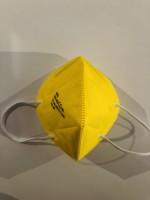 FFP2 Atemschutzmasken mit CE Zertifikat  Made in EU  Gelb 100 Stück