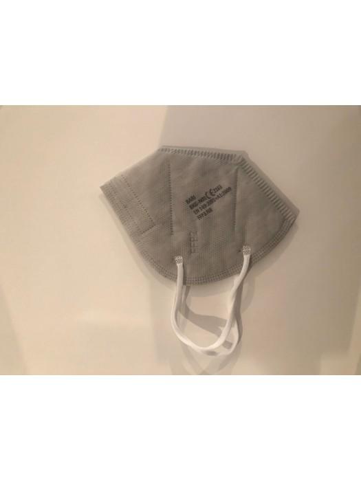 FFP2 Atemschutzmasken mit CE Zertifikat  Made in EU  Grau 100 Stk