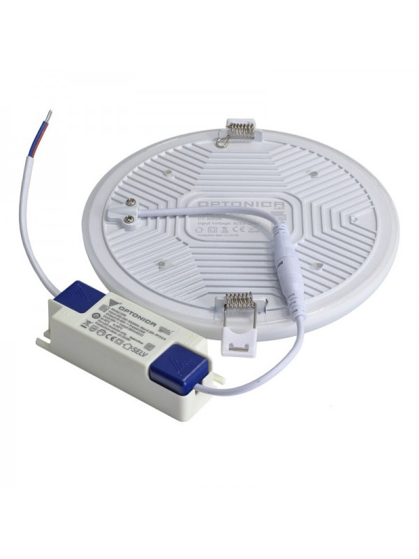 24W LED Frameless Mini Panel Rund Kaltweiß,Neutralweiß, Warmweiß