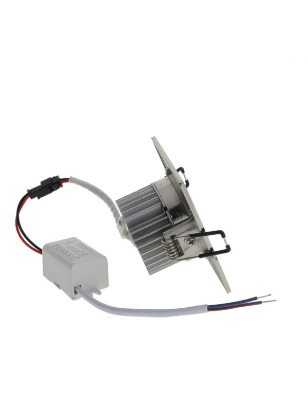 4W LED Einbauleuchte Quadratisch Schwenkbar Kaltweiß