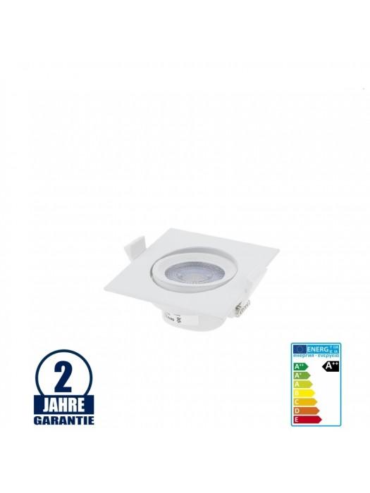 5W LED Einbauleuchte Quadratisch Schwenkbar 6000K/4500K/2700K