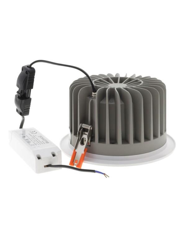 40W LED Einbauleuchte  RUND 60° TÜV Neutralweiß