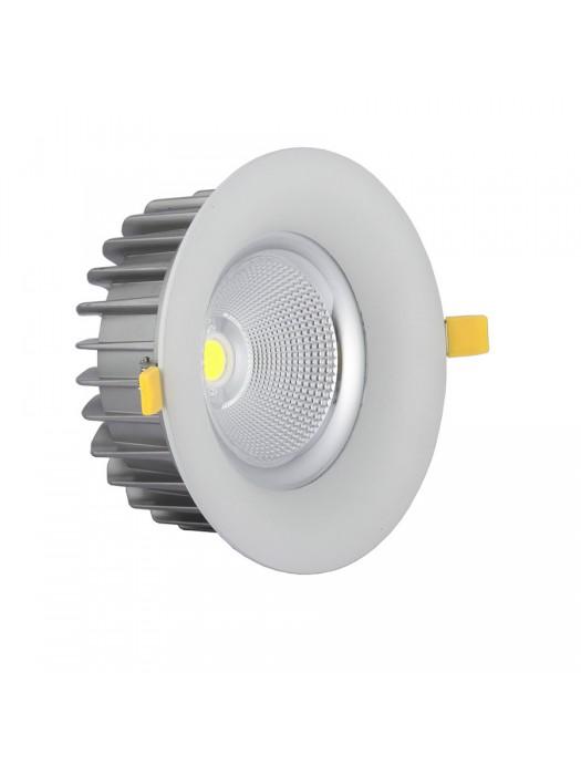 60W LED  Einbauleuchte Rund 60° Kaltweiß TÜV