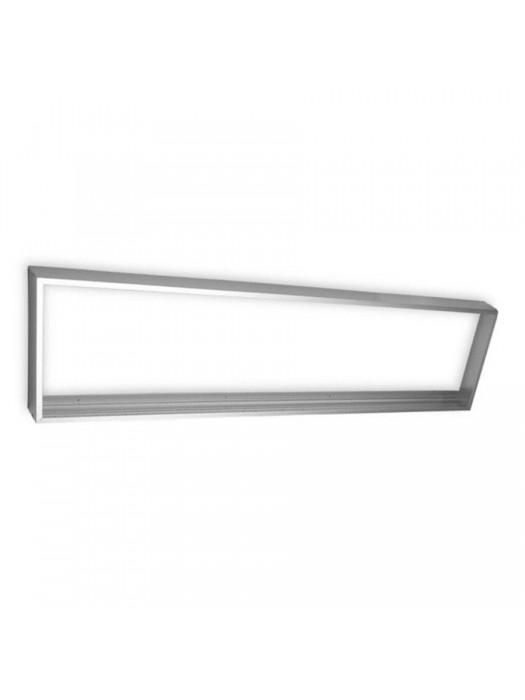 LED Paneel Rahmen 300 x1200 mm Aluminium Weiß