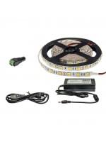 60SMD/m 14,4W/m 12V LED Streifen 5050  5m SET