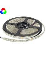 60SMD/m 14,4W/m 12V LED Streifen 5050 RGB Wassergeschützt 5m Rolle