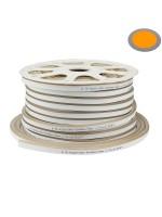 120SMD/m 8,5W 230V LED Flex-Neon Amber Streifen 1m