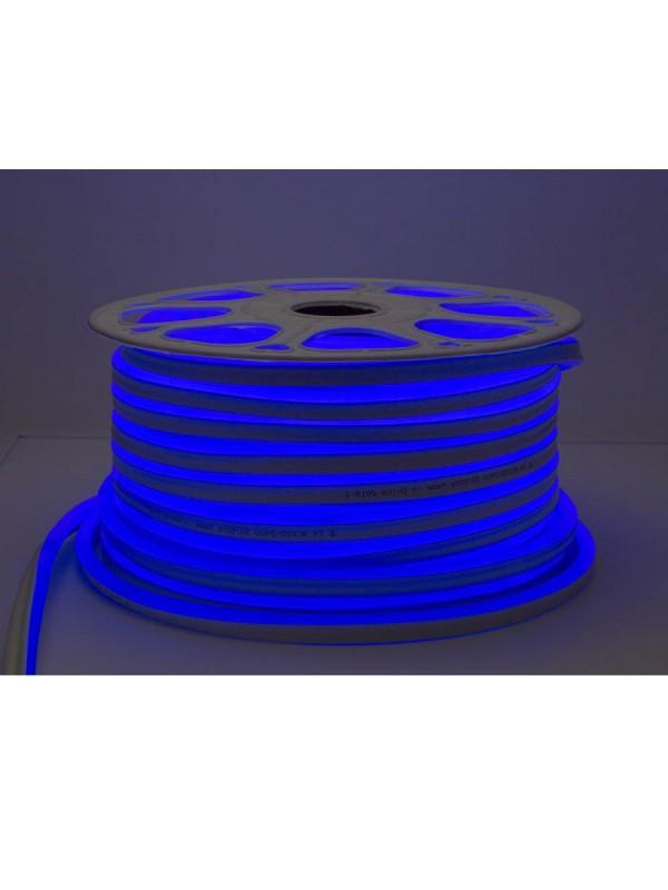 120SMD/m 8,5W 230V LED Flex-Neon  Blau 1m