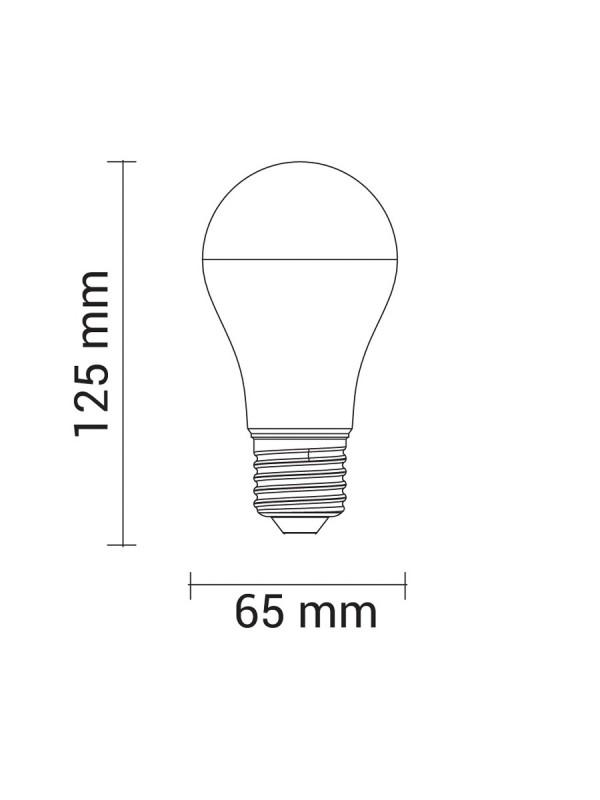 15W LED  E27 270° PREMIUM