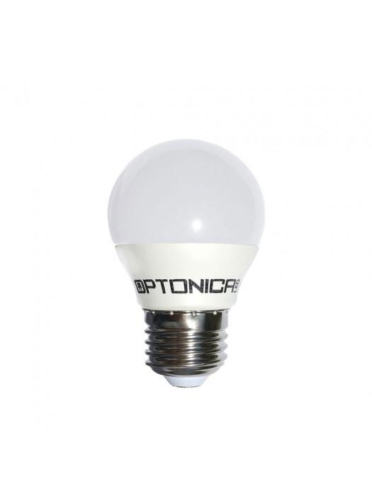 4W E27 LED  Premium G45 Matt Kaltweiß