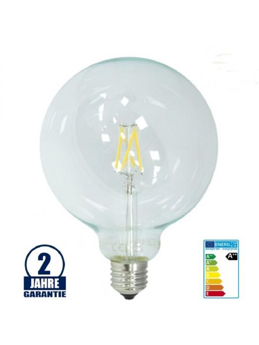 E27 LED G125 4W  FILAMENT