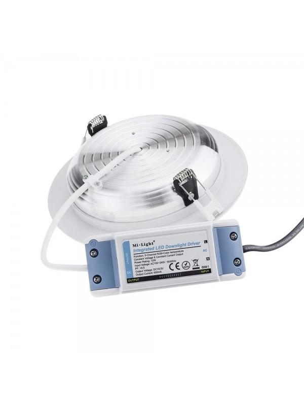 Mi-Light 2.4GHz RGB+CCT LED Einbau 12W