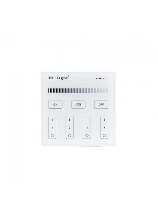 Mi-Light 2.4GHz 4-Zonen Single Color Panel Steuerung